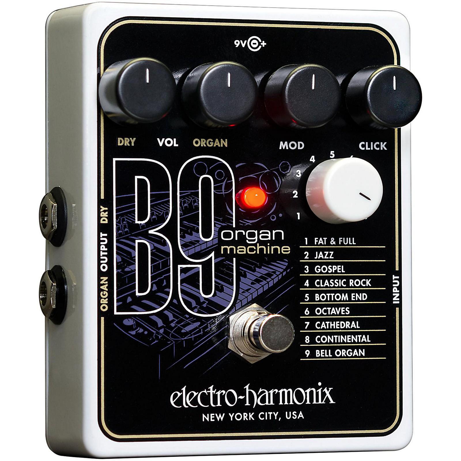 Electro-Harmonix B9 Organ Machine Guitar Effects Pedal