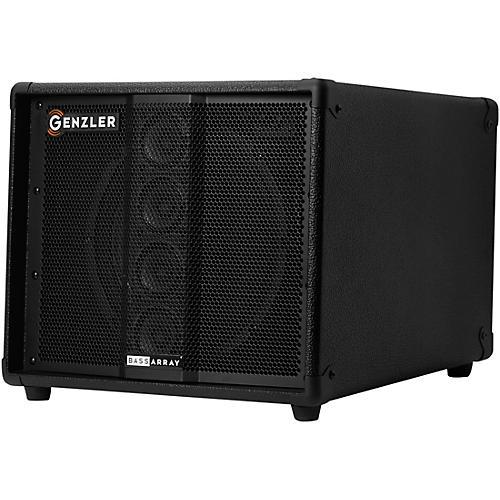 Genzler Amplification BA10-2 Bass Array 1x10 with 4x2.5 Line Array Bass Speaker Cabinet Black