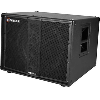 "Genzler Amplification BA15-3 SLT Bass Array 400W 1x15"" and 4x3"" Line Array Bass Speaker Slant Cabinet"