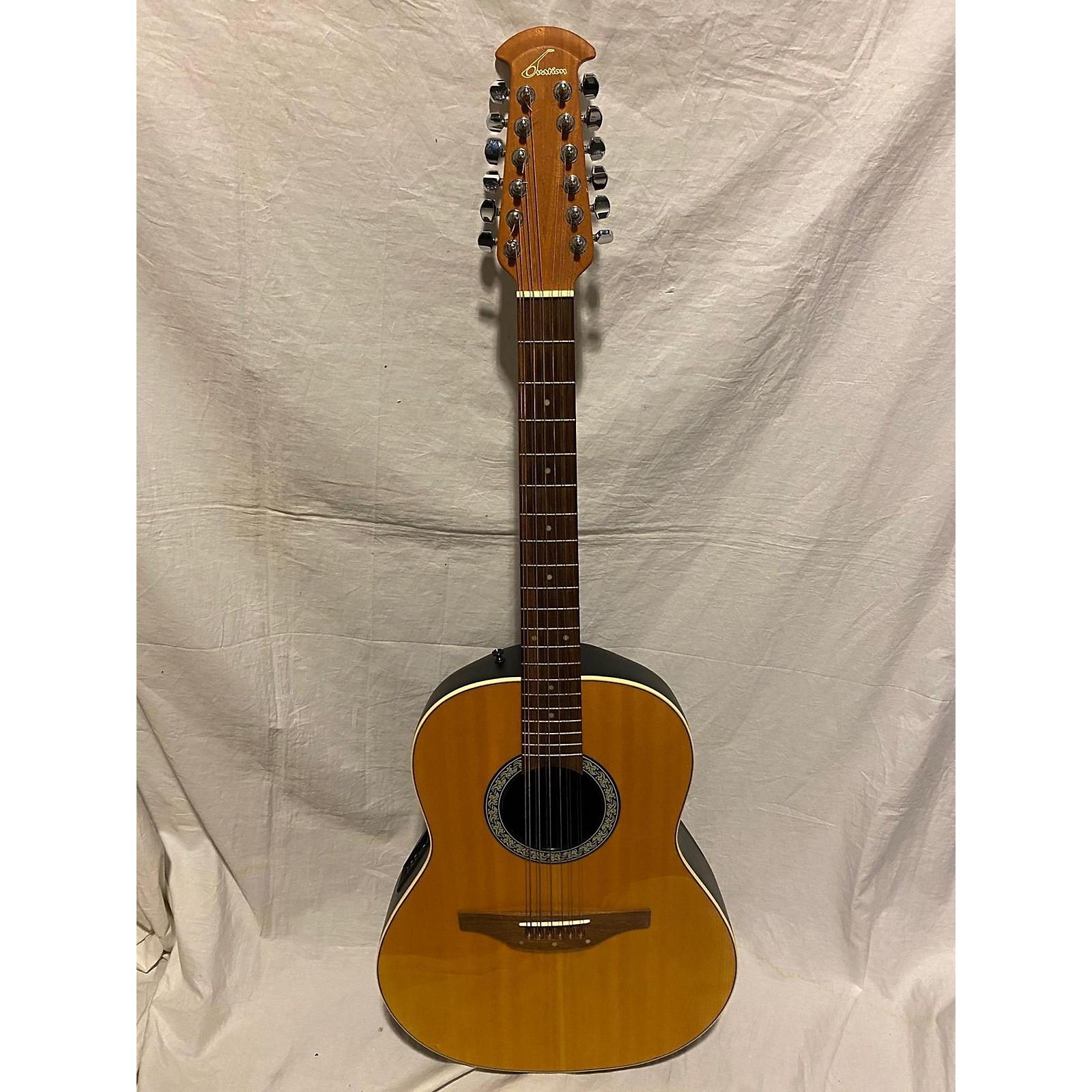 Ovation BALLADEER STANDARD 1751 12 STRING GUITAR 12 String Acoustic Electric Guitar