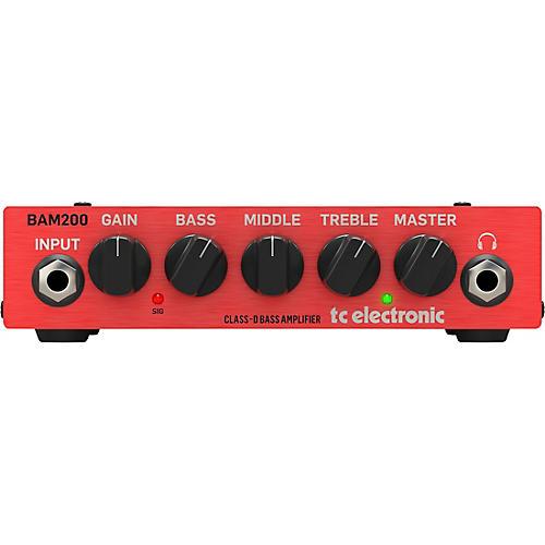 TC Electronic BAM 200 200W Bass Amp Head
