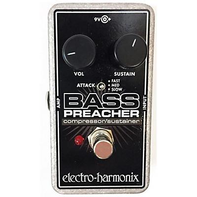 Electro-Harmonix BASS PREACHER COMPRESSOR/SUSTAINER Bass Effect Pedal