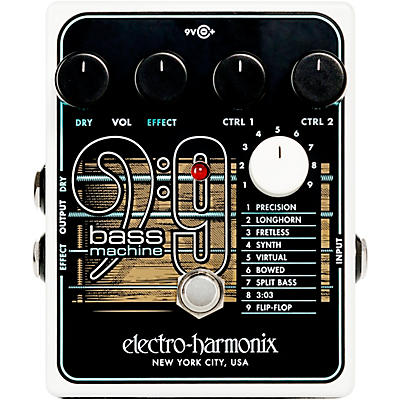 Electro-Harmonix BASS9 Bass Machine Effects Pedal