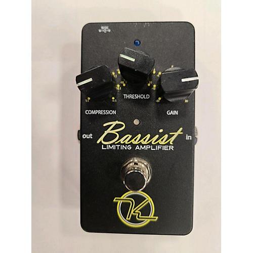 Keeley BASSIST Bass Effect Pedal