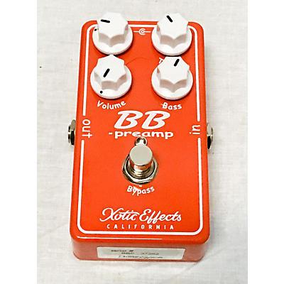 Xotic BB PLUS Effect Pedal