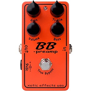 open box xotic effects bb preamp overdrive guitar effects pedal regular 190839770974 musician. Black Bedroom Furniture Sets. Home Design Ideas