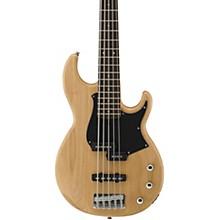 BB235 5-String Electric Bass Natural Satin Black Pearl Pickguard