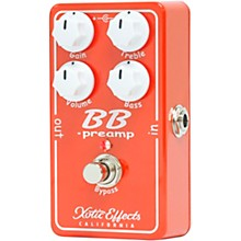 Xotic BBP-V1.5 Preamp Effects Pedal