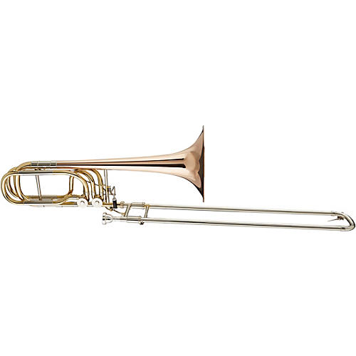 Blessing BBTB-62R Performance Series Bass Trombone Lacquer Rose Brass Bell