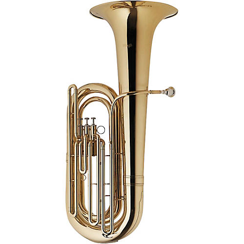 Stagg BBb Tuba, 3 top action valves, w/ABS case on wheels