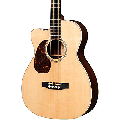 Martin BC-16E Left Handed Acoustic-Electric Bass Guitar