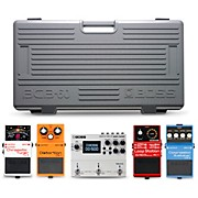 BCB-60 Pedal Board Players Pack with TU-3 Chromatic Tuner, DS-1 Distortion, RC-1 Loop Center, CS-3 Compression Sustainer and DD-500 Digital Delay Effects Pedals