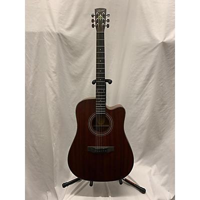 Bristol BD-15ce Acoustic Electric Guitar
