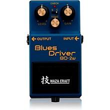 Open BoxBoss BD-2W Blues Driver Waza Craft Guitar Effects Pedal