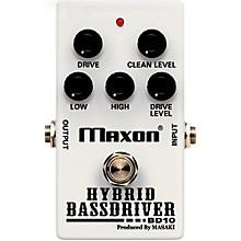 Open BoxMaxon BD10 Hybrid Bass Driver Effects Pedal