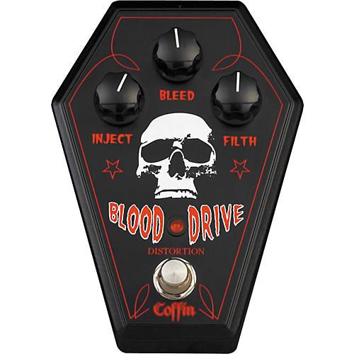 Coffin Case BDFX-1 Blood Drive Distortion Pedal