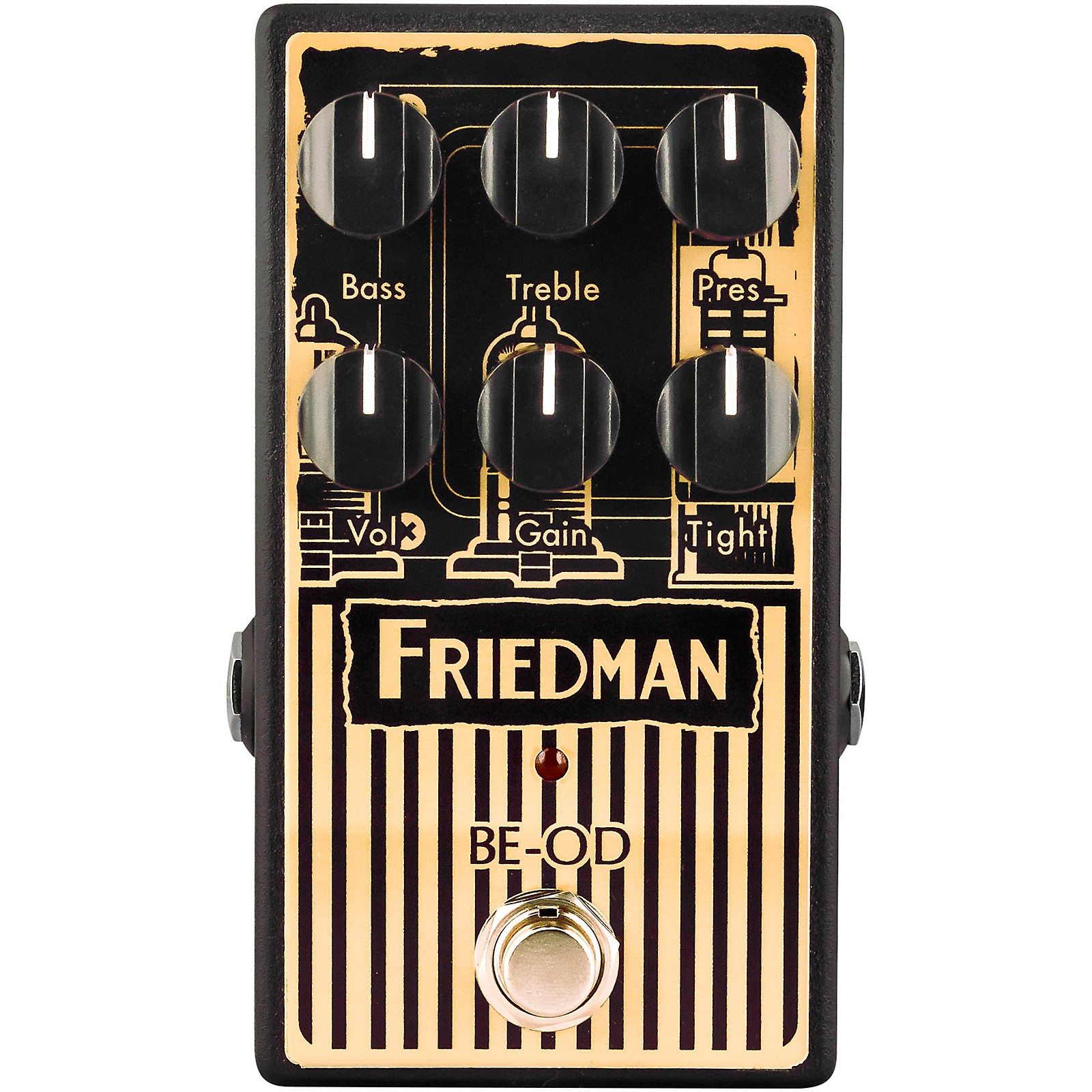 Friedman BE-OD Brown Eye Limited-Edition AmpArt Overdrive Effects Pedal