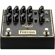 Open Box Friedman BE-OD Deluxe Dual Brown Eye Overdrive Effects Pedal