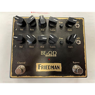 Friedman BE-OD Deluxe Dual Overdrive Effect Pedal