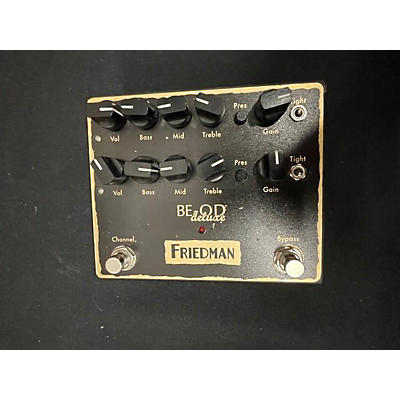 Friedman BE-OD Deluxe Effect Pedal