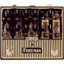 Friedman BE-OD Deluxe Limited-Edition AmpArt Dual Brown Eye Overdrive Effects Pedal
