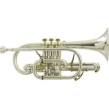 BE2028 Prestige Series Bb Cornet Silver