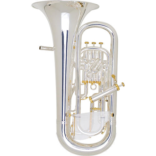 Besson BE2051 Prestige Pro Euphonium Silver