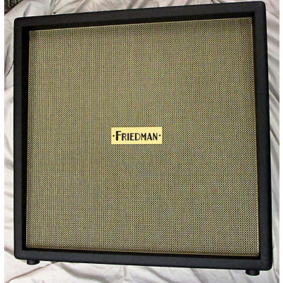 Friedman BE412 Straight Vintage 4x12 Cabinet Guitar Cabinet