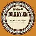 D'Addario BEC040 040 Folk Nylon Clear Ball End Single String thumbnail