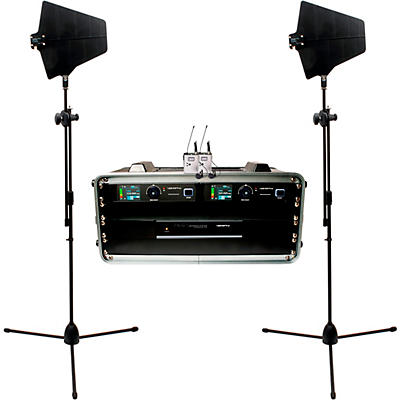 Vocopro BENCHMARK-DUAL-BP 2-Channel True Diversity Body Pack and Lavalier Microphone System