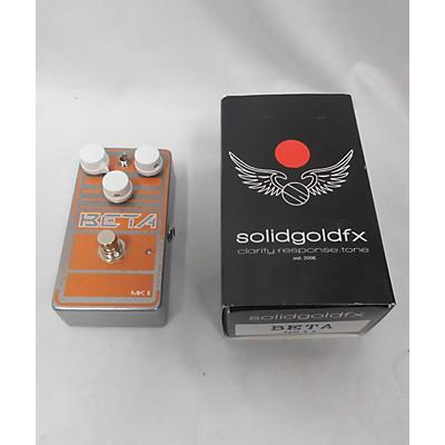 SolidGoldFX BETA MK II Bass Effect Pedal