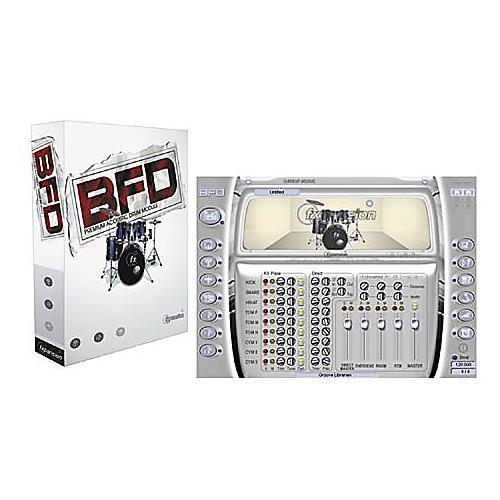 BFD Premium Acoustic Drum Module Plug-In DVD