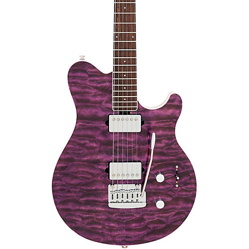 ernie ball music man bfr axis super sport quilt top electric guitar musician 39 s friend. Black Bedroom Furniture Sets. Home Design Ideas