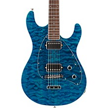 Ernie Ball Music Man BFR Steve Morse HH Quilt Top Electric Guitar w/Reverse Headstock