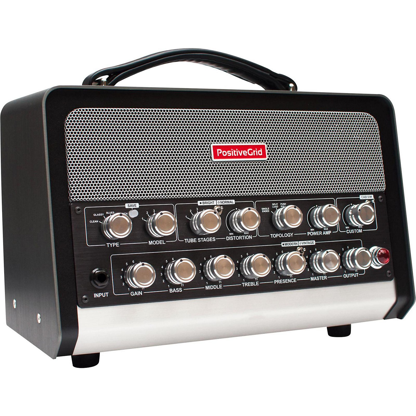 Positive Grid BIAS 600W Guitar and Bass Amplifier Head