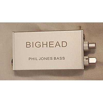 Phil Jones Bass BIGHEAD HA-1 HEADPHONE AMP Battery Powered Amp