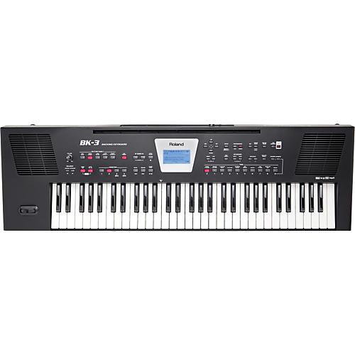 Roland BK-3 Backing Keyboard Condition 1 - Mint Black