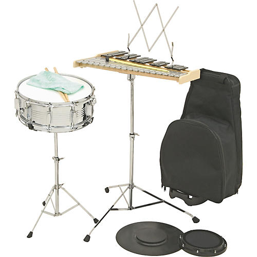 Verve BK2000R Combination Percussion Bell and Snare Learning Kit W/ Rolling Cart Old