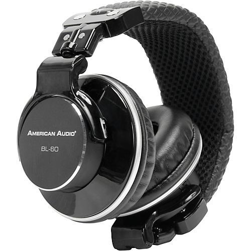 American Audio BL-60 Pro Headphone Condition 1 - Mint Black