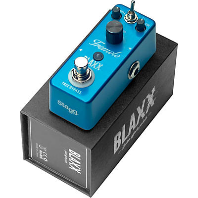 Stagg BLAXX Two Mode Tremolo Effects Pedal