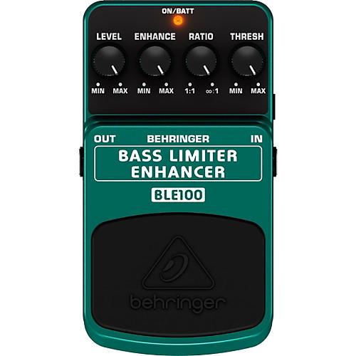 Behringer BLE100 Bass Limiter Enhancer Effects Pedal
