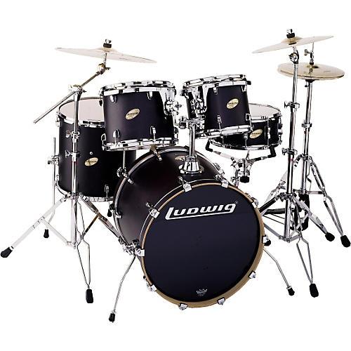 Ludwig BLEM LC325 Accent CS Custom 5pc Drum Set
