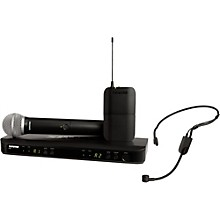 Open BoxShure BLX1288 Combo System with PGA31 Headset microphone and PG58 handheld microphone