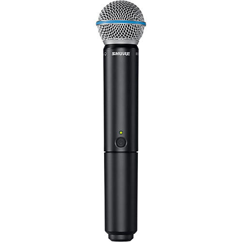 Shure BLX2/B58 Handheld Wireless Transmitter with Beta 58A Capsule Condition 1 - Mint Band H10