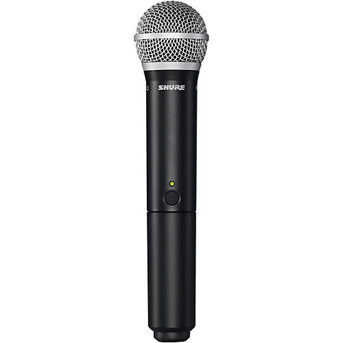 Shure BLX2/PG58 Handheld Wireless Transmitter with PG58 Capsule Band J11