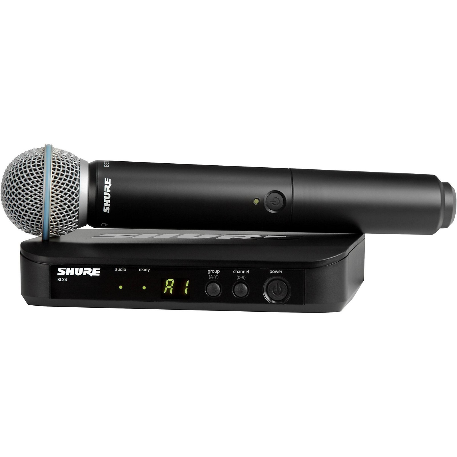 Shure BLX24/B58 Handheld Wireless System with Beta 58A Capsule