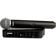 Open Box Shure BLX24/B58 Handheld Wireless System with Beta 58A Capsule