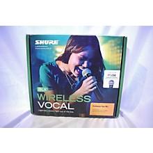 Shure BLX24/PG58-H9 Handheld Wireless System