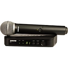 Open BoxShure BLX24/PG58 Handheld Wireless System with PG58 Capsule