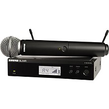Open BoxShure BLX24R/SM58 Wireless System with Rackmountable Receiver and SM58 Microphone Capsule